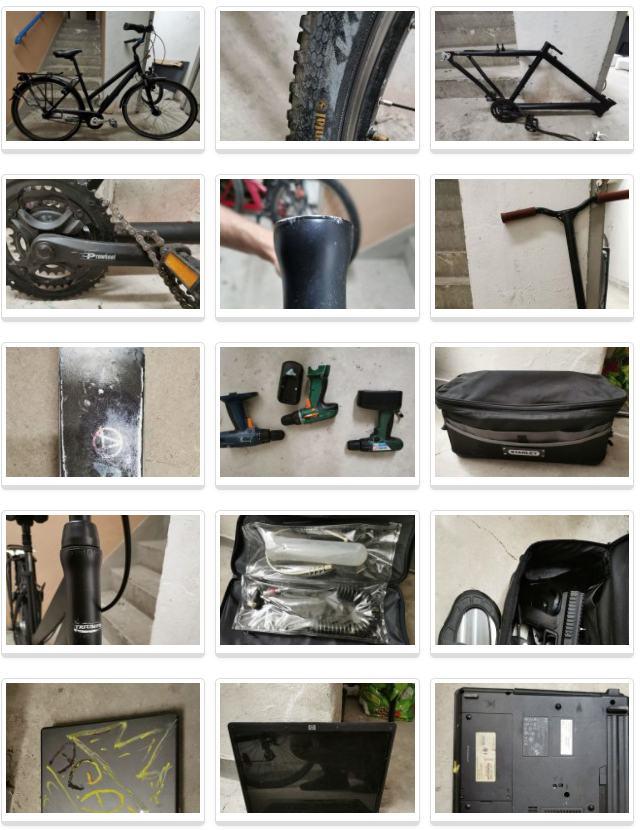 Policja poszukuje właścicieli skradzionych przedmiotów
